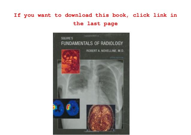 squires fundamentals of radiology pdf